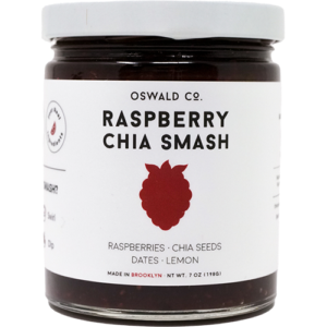 Raspberry Chia Smash by Oswald Co.
