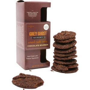 Grey Ghost Chocolate Bourbon Cookies 8oz