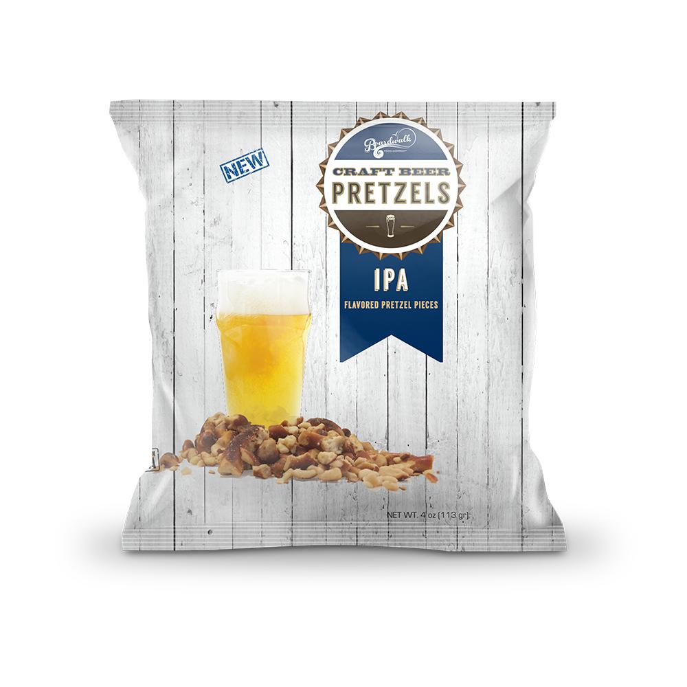 IPA Beer Flavored Pretzels (4 oz)