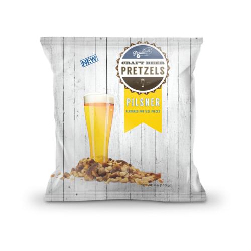 Pilsner Beer Flavored Pretzels (4 oz)