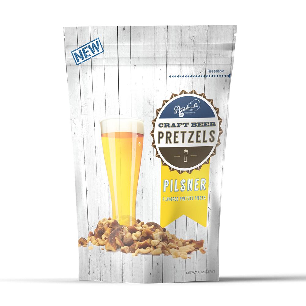 Pilsner Beer Flavored Pretzels (8 oz)