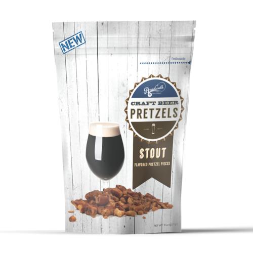 Stout Beer Flavored Pretzels (8 oz)