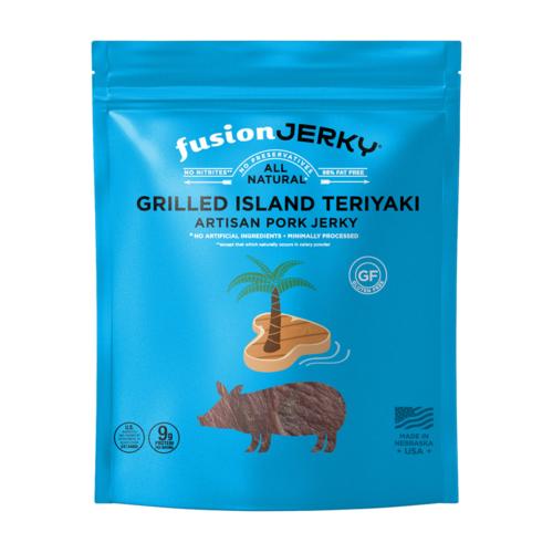 Grilled Island Teriyaki Jerky (1 oz)