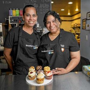 Carmen Rodriguez and Gina Madera
