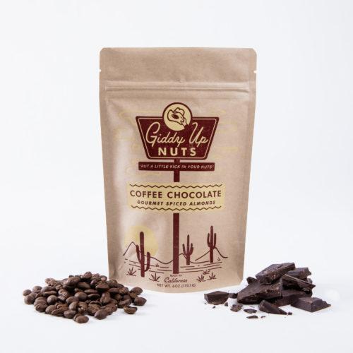 Coffee Chocolate Almonds (6 oz)