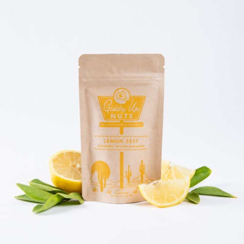 Lemon Zest Almonds (2 oz)