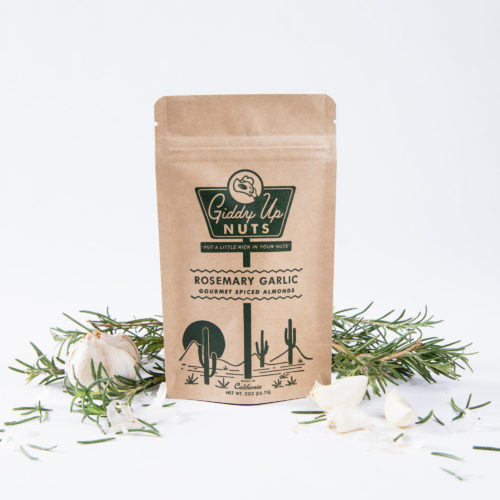 Rosemary Garlic Almonds (2 oz)