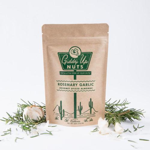 Rosemary Garlic Almonds (6 oz)
