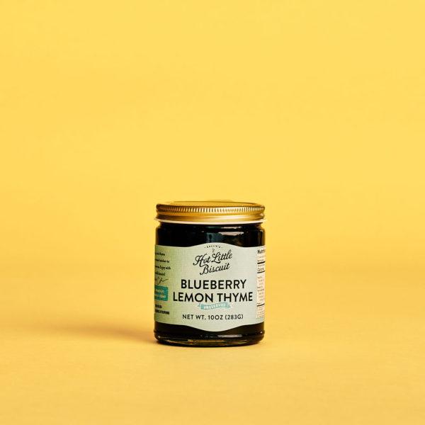 Blueberry Lemon Thyme Preserves