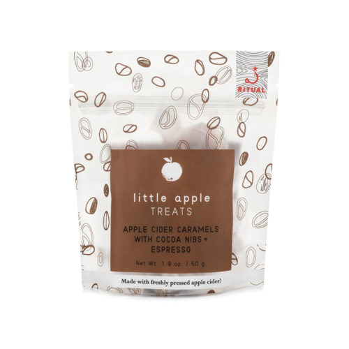 Apple Cider with Cold Brew + Cocoa Nib Caramels (1.8 oz)