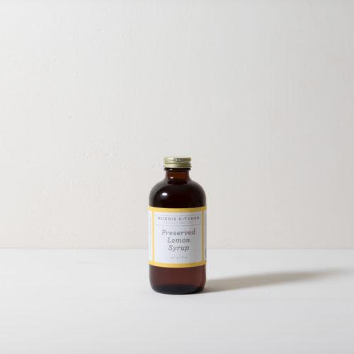 Preserved Lemon Cocktail Syrup (8 oz)