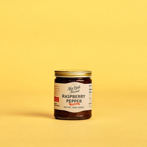 Raspberry Pepper Preserves