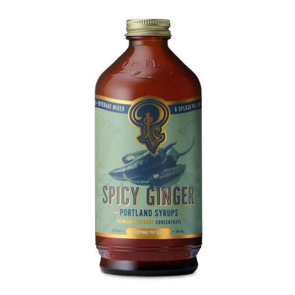 Spicy Ginger Syrup (12 Oz)
