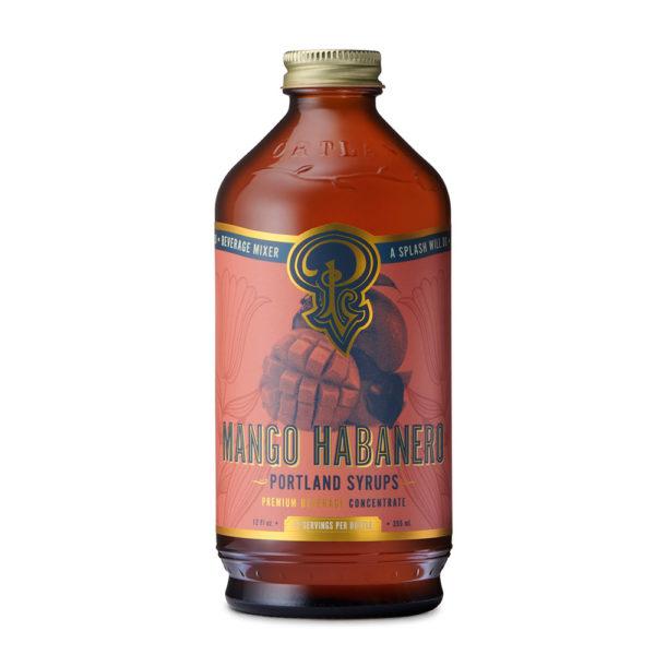 Mango Habanero Syrup (12 Oz)