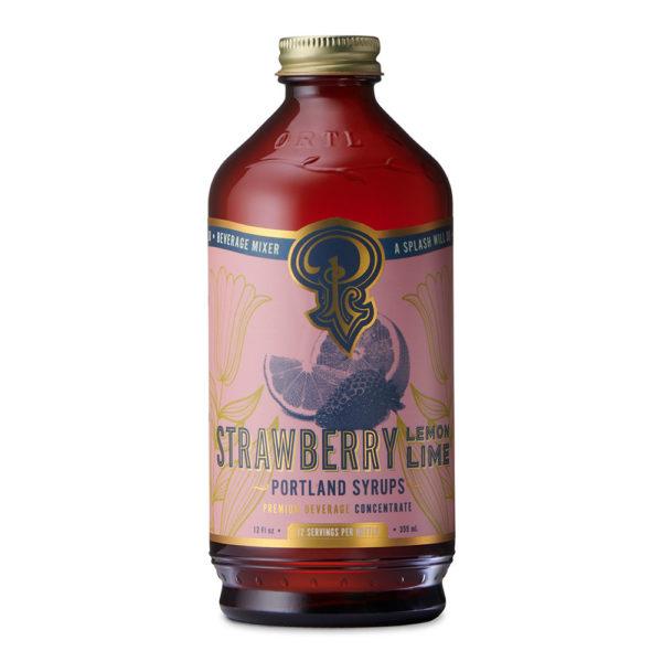 Strawberry Lemon Lime Syrup (12 Oz)