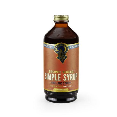 Brown Sugar Simple Syrup (12 Oz)